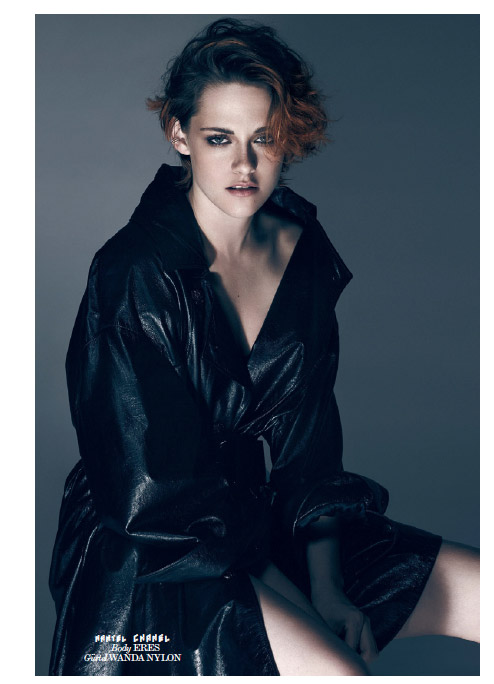 kristen stewart interview germany 2014 Kristen Stewart & Juliette Binoche Star on Interview Germany September 2014 Cover
