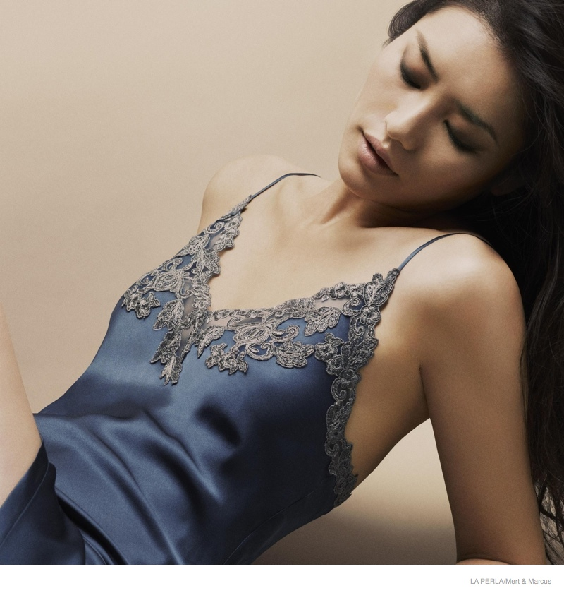 la perla sleepwear swimwear 2014 fall09 More Photos of Liu Wen, Mariacarla Boscono & Daria Strokous Revealed for La Perla