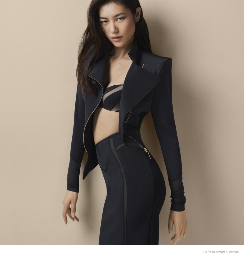 la perla sleepwear swimwear 2014 fall11 More Photos of Liu Wen, Mariacarla Boscono & Daria Strokous Revealed for La Perla
