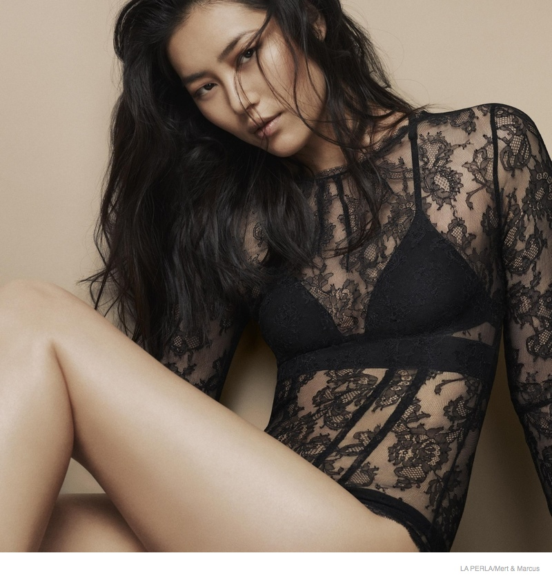 la perla sleepwear swimwear 2014 fall13 More Photos of Liu Wen, Mariacarla Boscono & Daria Strokous Revealed for La Perla