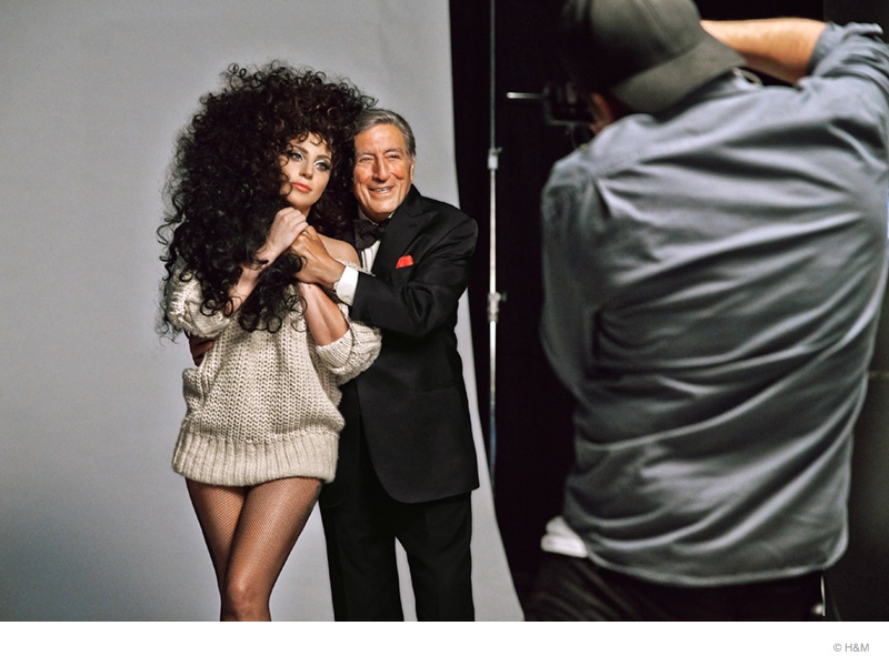 lady-gaga-tony-bennett-hm-holiday-bts