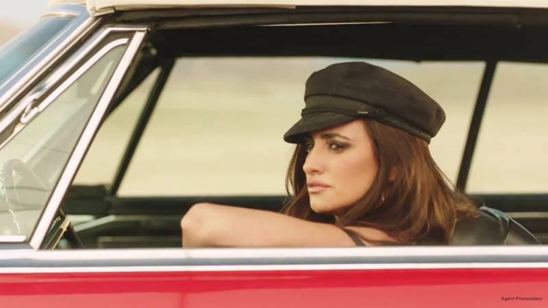 lagent film fall agent provocateur03 Penelope Cruz Directs & Stars in L'Agent by Agent Provocateur Racy Fall Film