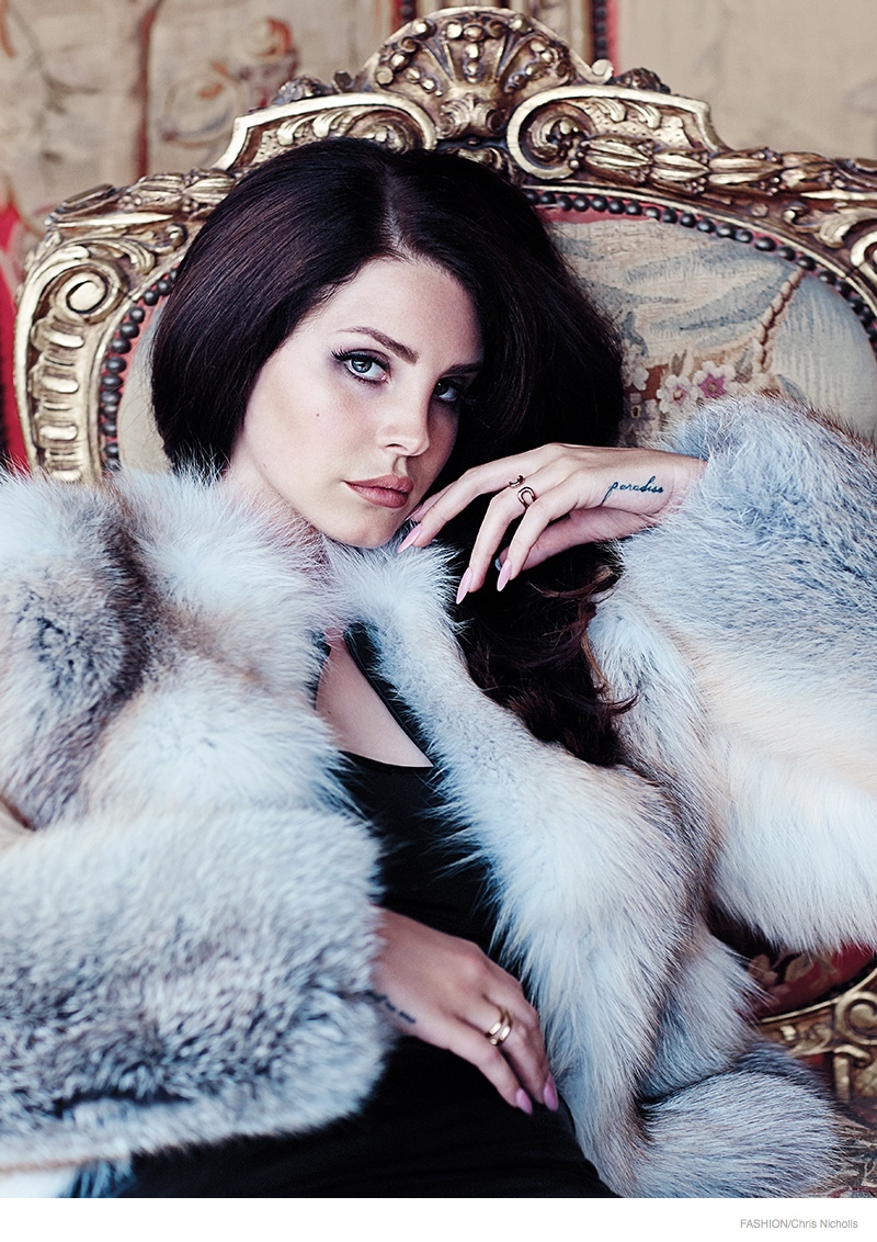 lana del rey chris nicholls 2014 02 More Images of Lana Del Rey for FASHION Magazine by Chris Nicholls