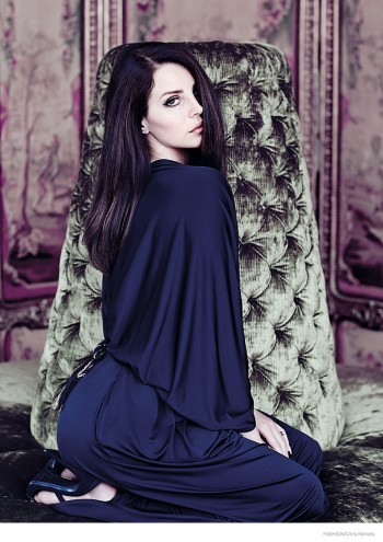 More Images of Lana Del Rey for FASHION Magazine by Chris Nicholls