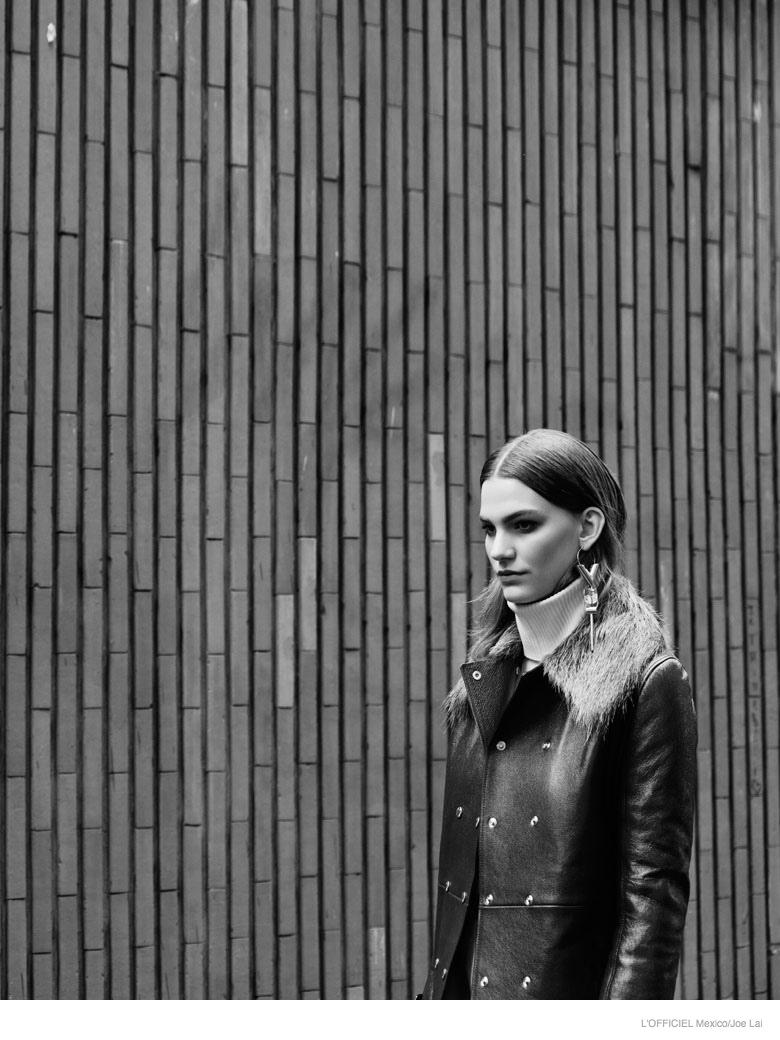 lena hardt model03 New Retro: Lena Hardt for LOfficiel Mexico September 2014 by Joe Lai