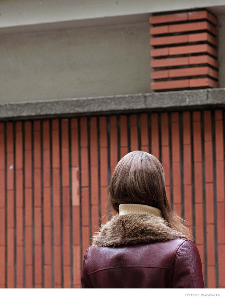 lena hardt model07 New Retro: Lena Hardt for LOfficiel Mexico September 2014 by Joe Lai