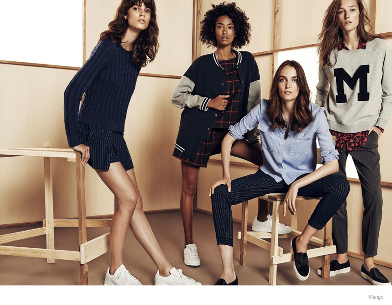 Mango Offers Casual Fall Update with Zuzanna, Anais, Antonina + Josephine