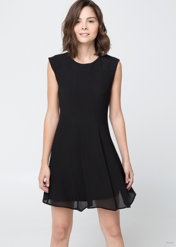 Flared Skirt Dress available at Mango for $69.99