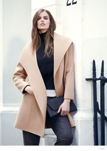 More Photos of Robyn Lawley for Mango Violeta's Fall 2014 Catalogue