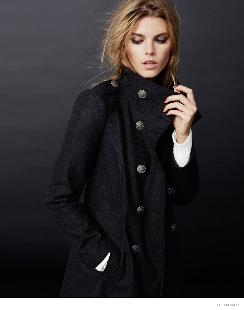 marnya linchuk suiteblanco fall fashion 2014 01 Maryna Linchuk Models Fall Fashions for Suiteblancos New Ads