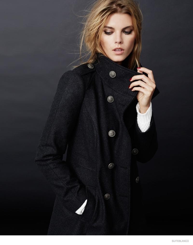 marnya linchuk suiteblanco fall fashion 2014 01 Maryna Linchuk Models Fall Fashions for Suiteblancos New Ads