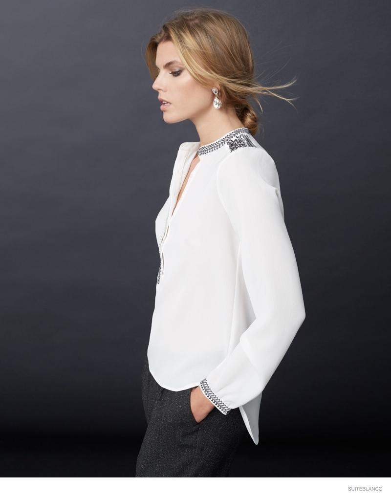 marnya linchuk suiteblanco fall fashion 2014 02 Maryna Linchuk Models Fall Fashions for Suiteblancos New Ads