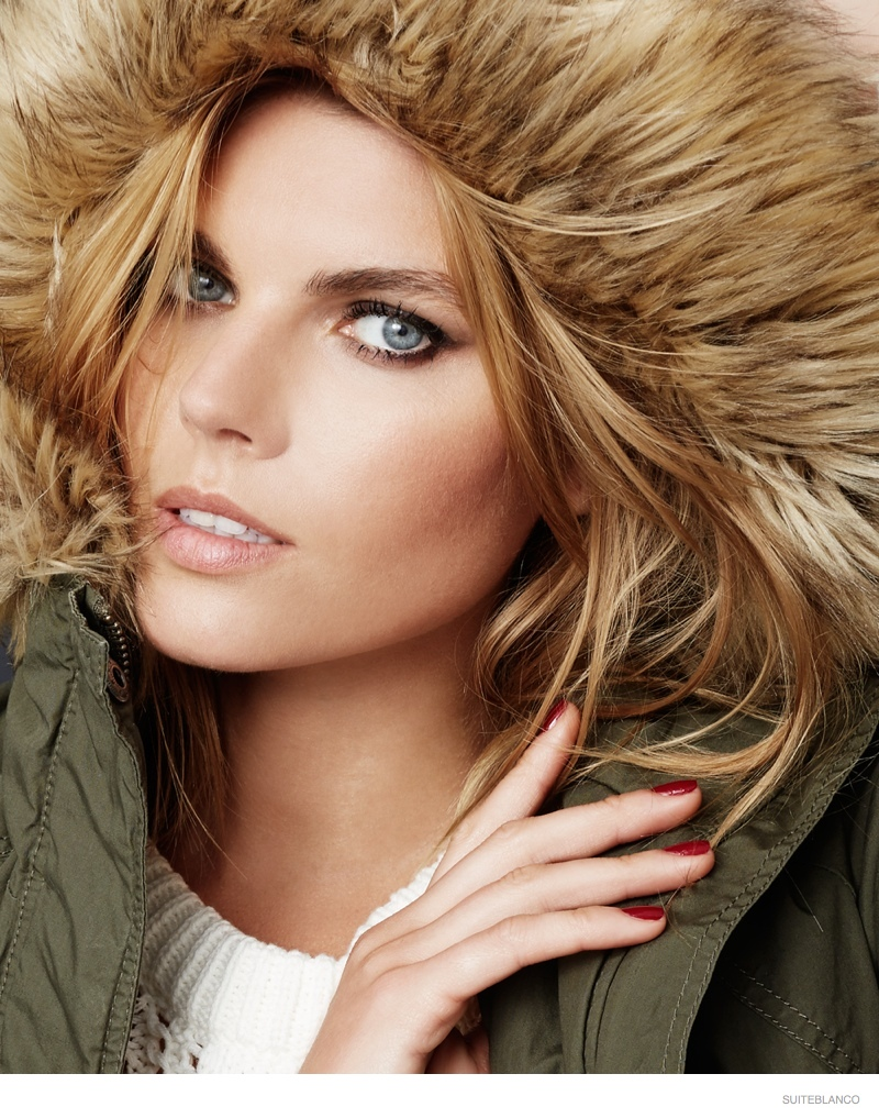 marnya linchuk suiteblanco fall fashion 2014 03 Maryna Linchuk Models Fall Fashions for Suiteblancos New Ads