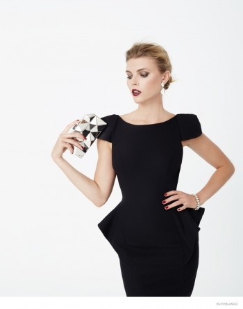Maryna Linchuk Models Fall Fashions for Suiteblanco's New Ads