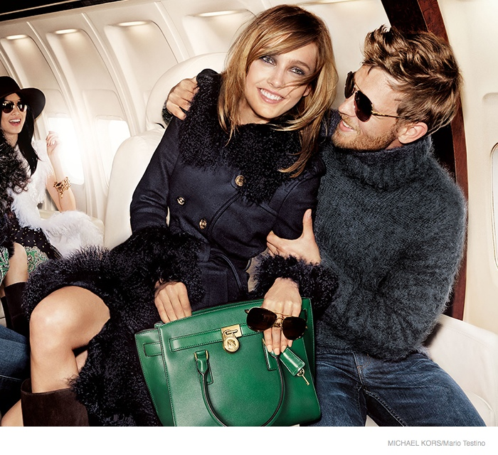 michael kors 2014 fall ad campaign05 Karmen Pedaru is LA Glam for Michael Kors Fall 2014 Campaign