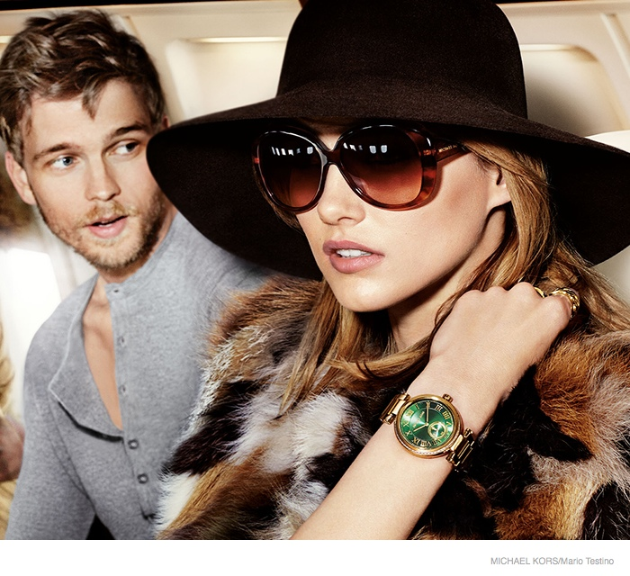michael kors 2014 fall ad campaign07 Karmen Pedaru is LA Glam for Michael Kors Fall 2014 Campaign