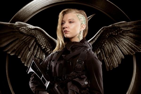 "Natalie Dormer as Cressida in Rebel Poster for ""The Hunger Games: Mockingjay Part 1"""