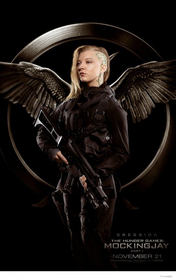 "Natalie Dormer as Cressida in Rebel Poster for ""The Hunger Games: Mockingjay Part 1"""