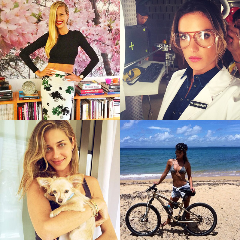 models august photos instagram Instagram Photos of the Week | Petra Nemcova, Ana Beatriz Barros + More Models