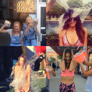 See Karlie Kloss, Kate Upton, Barbara Palvin & More Models Do the Ice Bucket Challenge