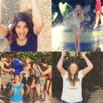 Naomi Campbell, Rosie Huntington-Whiteley, Isabeli Fontana! More Models Do the Ice Bucket Challenge
