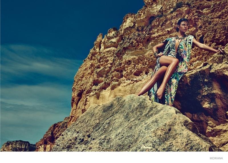 moikana spring summer 2015 beach fashion09 Paolla Rahmeier Stuns in Beach Style for Moikanas Summer 2015 Campaign