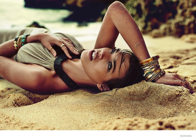 moikana spring summer 2015 beach fashion14 Paolla Rahmeier Stuns in Beach Style for Moikanas Summer 2015 Campaign