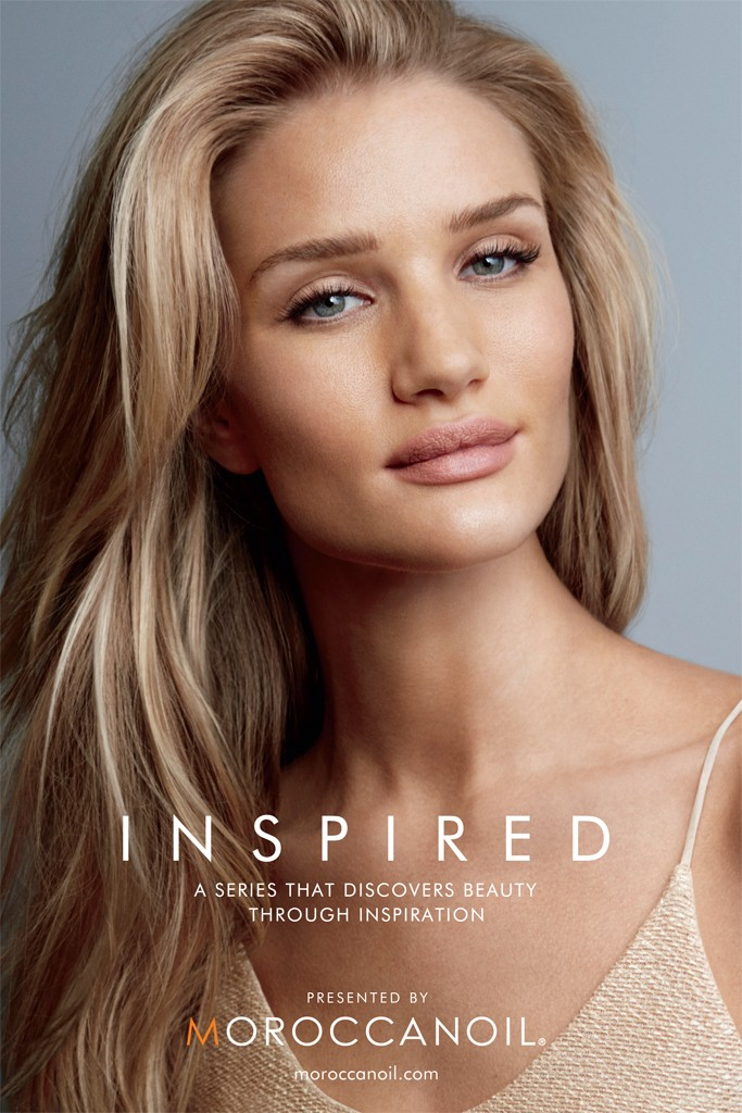 Rosie Huntington-Whiteley Stuns in Moroccanoil Campaign