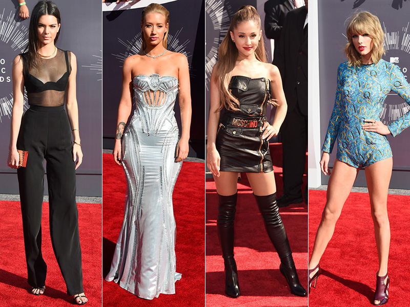 2014 MTV VMAs Red Carpet Style