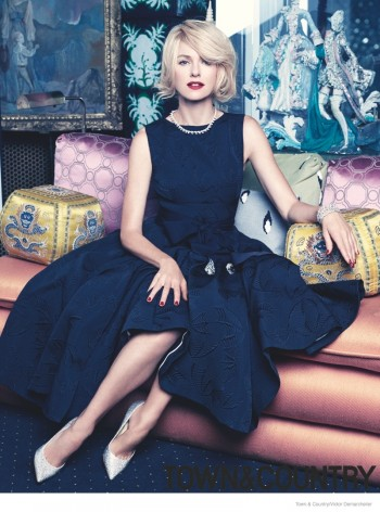 "Naomi Watts Stars in Town & Country, Talks ""Divergent"" & Plastic Surgery Pressure"