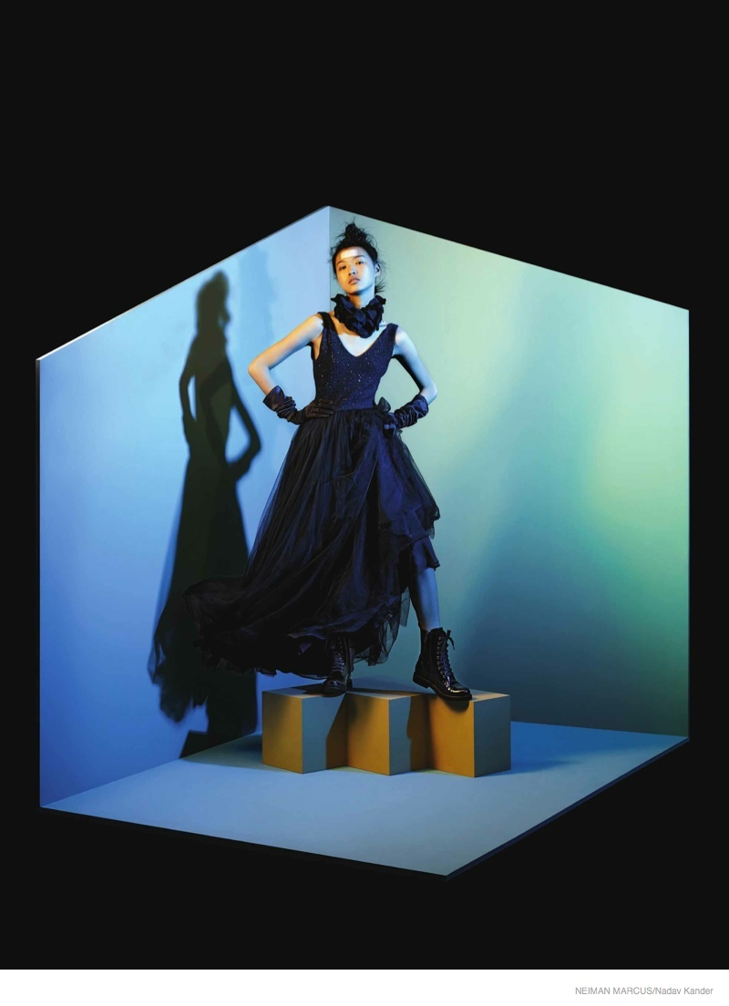 neiman marcus art of fashion 2014 fall01 Things Get Surreal for Neiman Marcus The Art of Fashion Fall 2014 Campaign