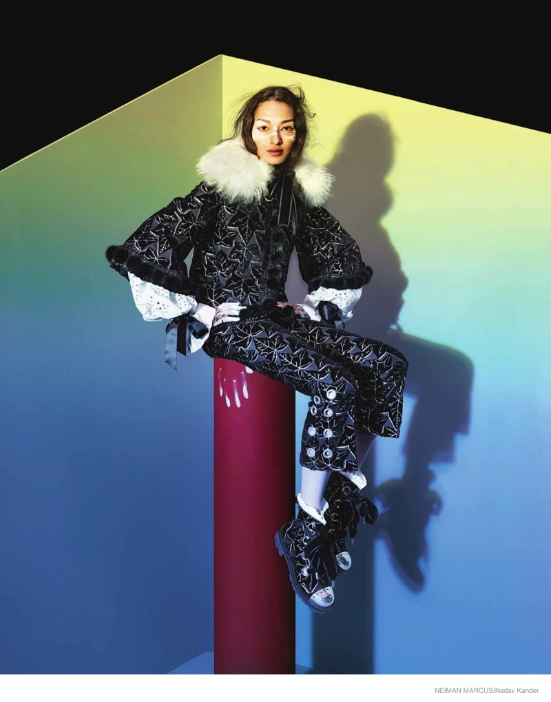 neiman marcus art of fashion 2014 fall03 Things Get Surreal for Neiman Marcus The Art of Fashion Fall 2014 Campaign