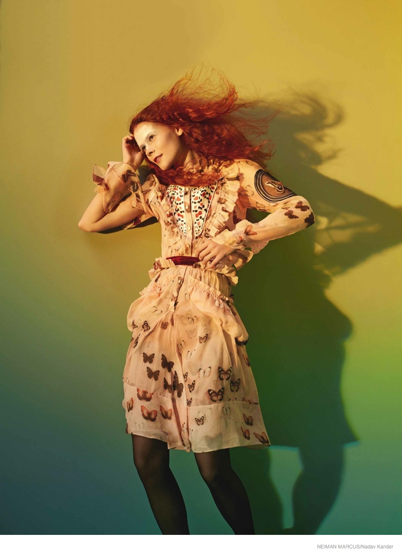 neiman marcus art of fashion 2014 fall05 Things Get Surreal for Neiman Marcus The Art of Fashion Fall 2014 Campaign