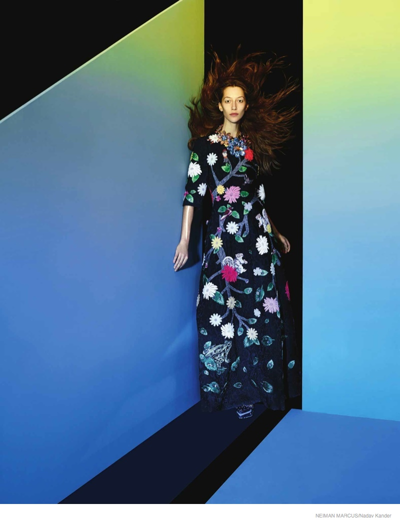 neiman marcus art of fashion 2014 fall08 Things Get Surreal for Neiman Marcus The Art of Fashion Fall 2014 Campaign