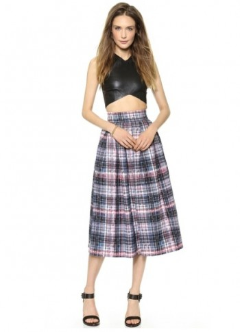5 Plaid Pleat Skirts for a Ladylike Take on School Girl Style
