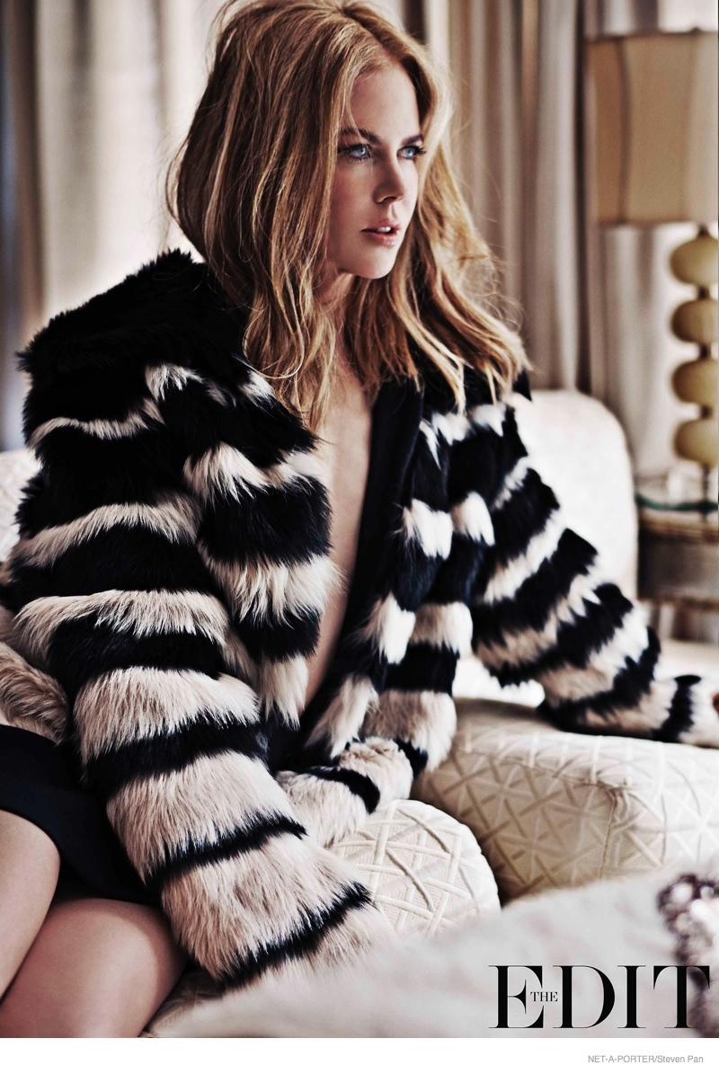 Nicole Kidman Poses for the Edit, Talks Tom Cruise Divorce