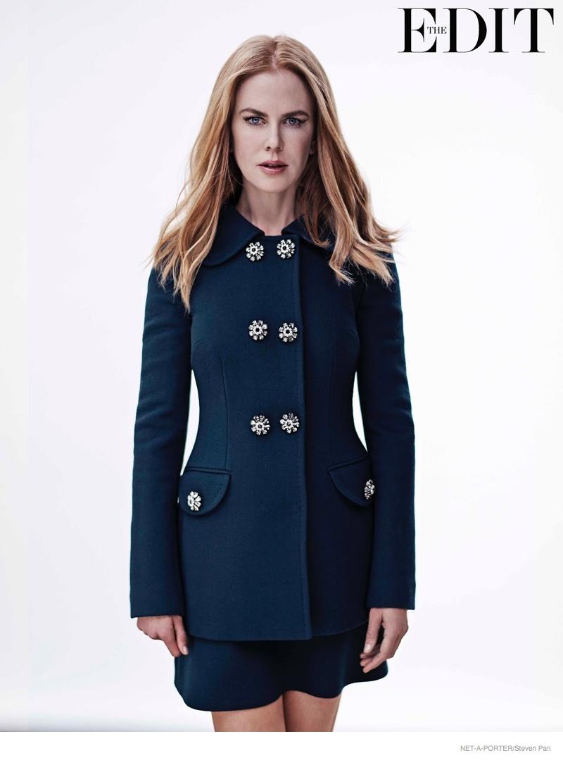 nicole kidman 2014 fashion shoot04 Nicole Kidman Poses for the Edit, Talks Tom Cruise Divorce