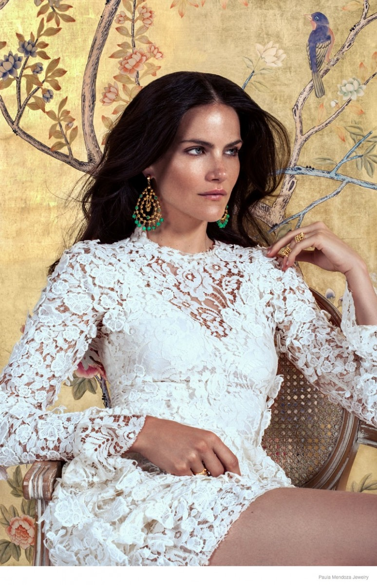 paula mendoza jewelry 2015 spring collection02 774x1200 Missy Rayder Shines in Paula Mendozas Spring/Summer 2015 Jewelry Collection