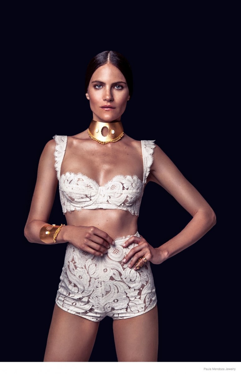 paula mendoza jewelry 2015 spring collection03 774x1200 Missy Rayder Shines in Paula Mendozas Spring/Summer 2015 Jewelry Collection