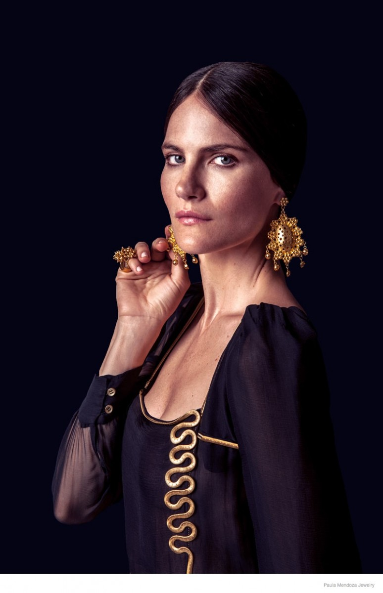 paula mendoza jewelry 2015 spring collection05 774x1200 Missy Rayder Shines in Paula Mendozas Spring/Summer 2015 Jewelry Collection