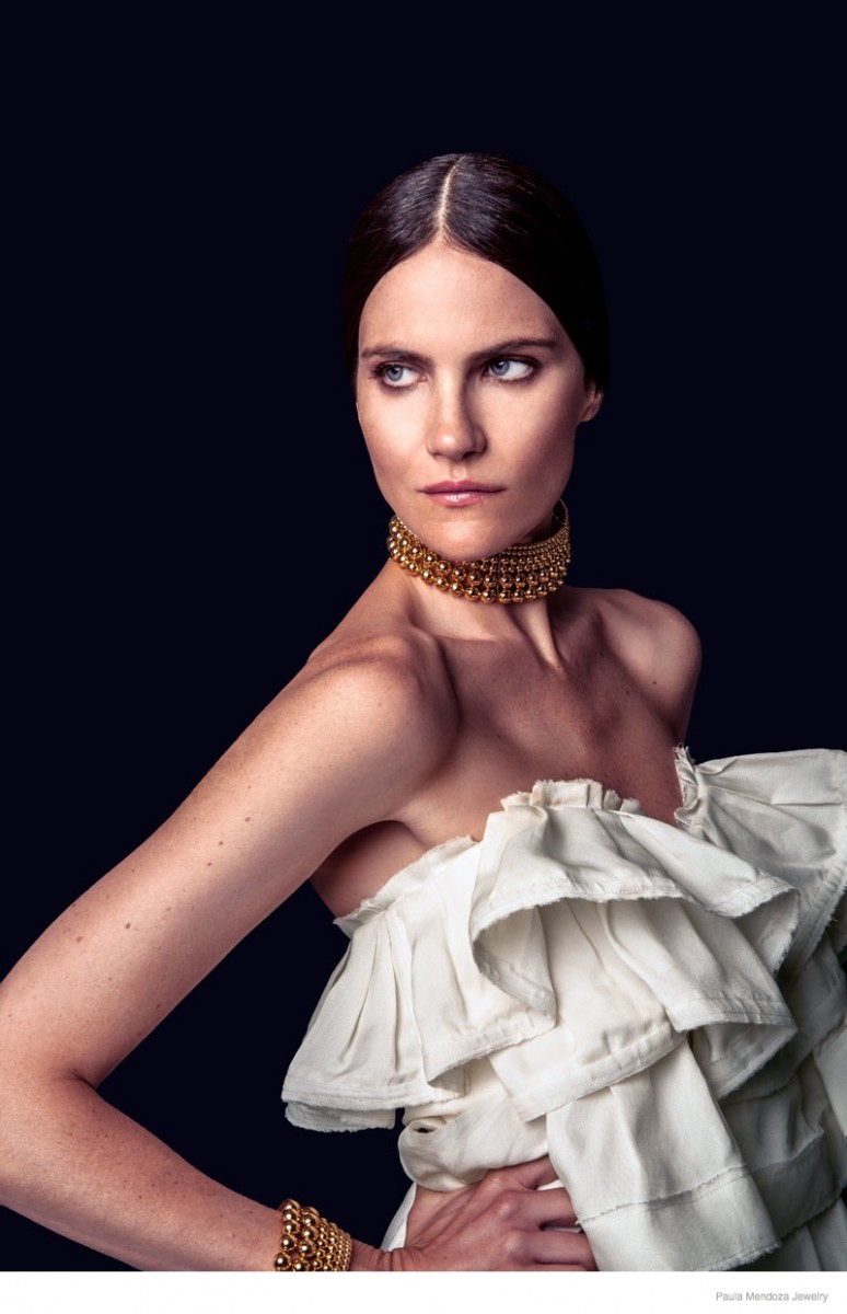 paula mendoza jewelry 2015 spring collection06 774x1200 Missy Rayder Shines in Paula Mendozas Spring/Summer 2015 Jewelry Collection