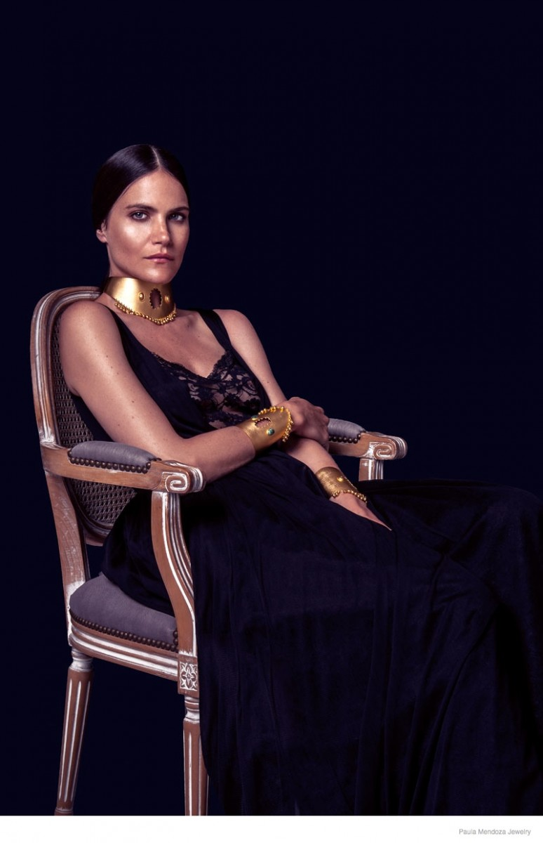 paula mendoza jewelry 2015 spring collection07 774x1200 Missy Rayder Shines in Paula Mendozas Spring/Summer 2015 Jewelry Collection