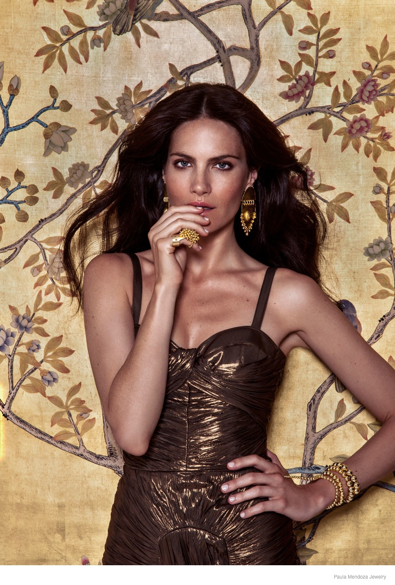 paula mendoza jewelry 2015 spring collection10 Missy Rayder Shines in Paula Mendozas Spring/Summer 2015 Jewelry Collection