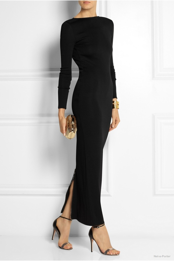 pierre-balmain-stretch-knit-maxi-dress2