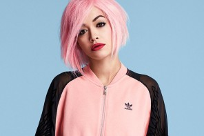 Rita Ora Rocks Pink Hair in New adidas Originals Photos