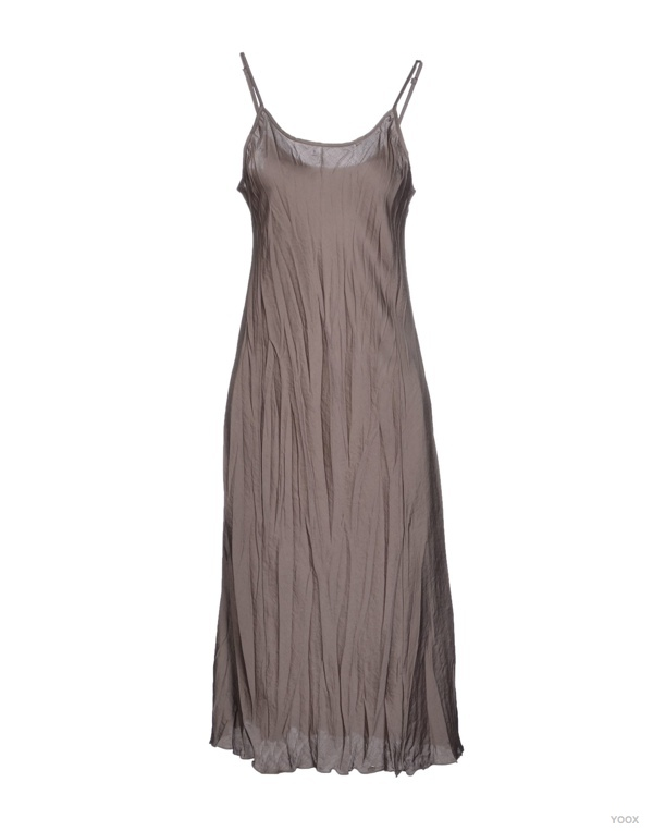 Rosamunda 3/4 Length Slip Dress available at YOOX for $89.00