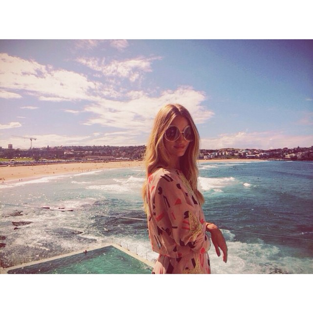 Rosie Huntington-Whiteley Instagram