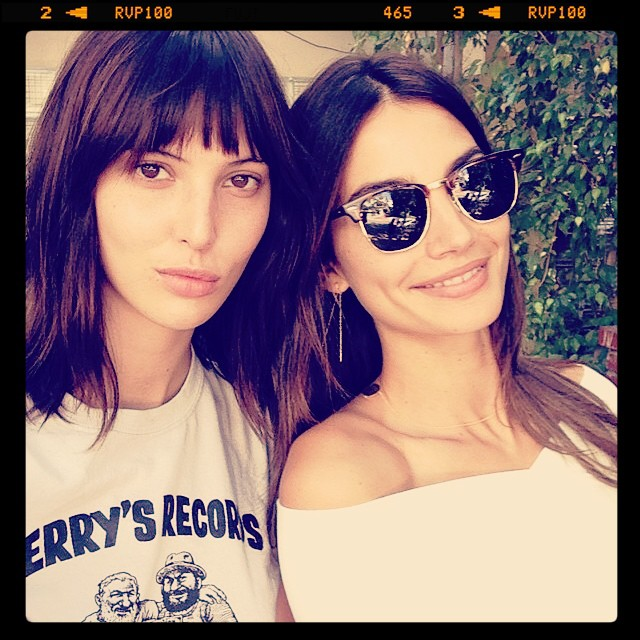 Model sisters Lily and Ruby Aldridge