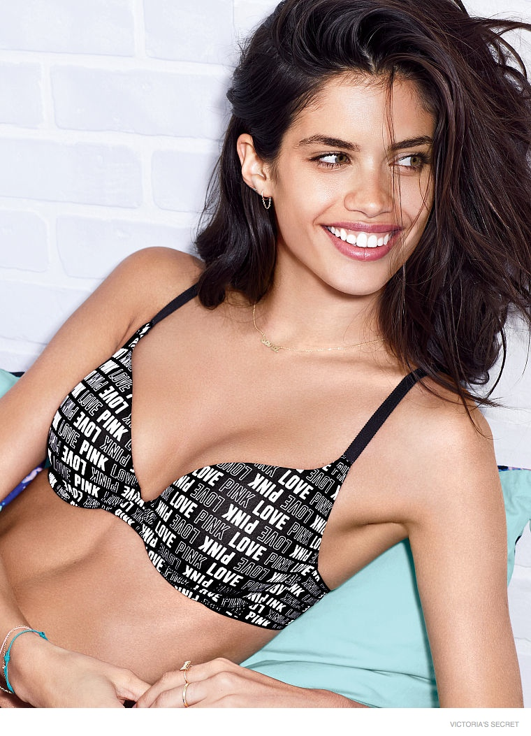 sara sampaio victorias secret pink 2014 01 Sara Sampaio Models Loungewear for Victorias Secret Pink Shoot