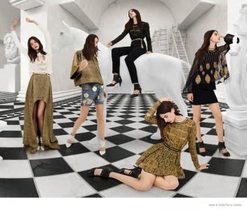 Jacquelyn Jablonski Takes Over sass & bide's Fall 2014 Ads